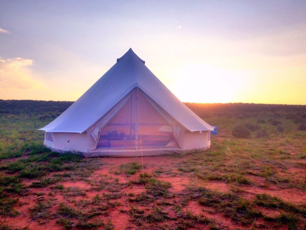 The Coolest Airbnb in Every State: Arizona Glamping Bell Tent Airbnb