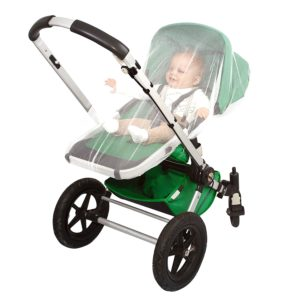 Tick and mosquito repellent stroller net